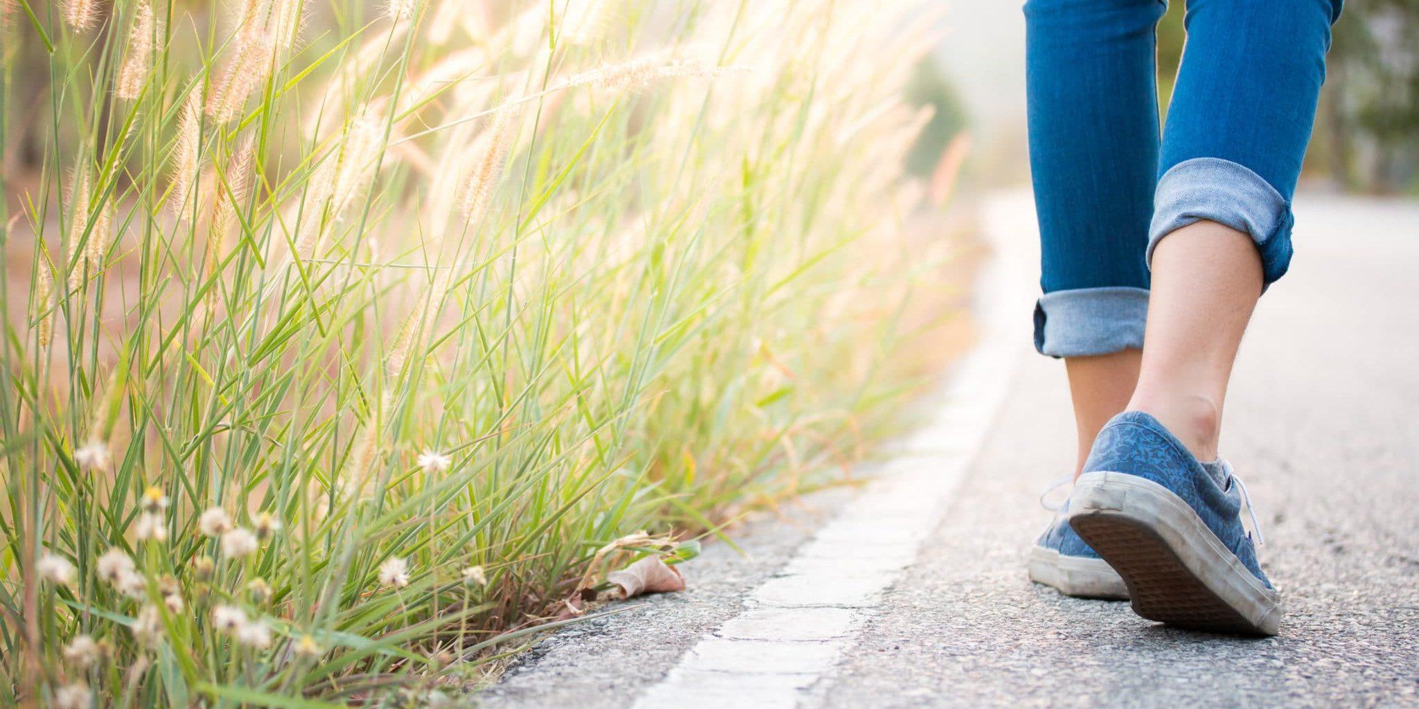 La pleine conscience au quotidien en marchant