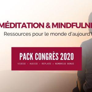 """Pack Congrès """"Méditation & Mindfulness"""" – Décembre 2020"""