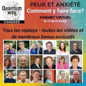 """Congrès """"Peur & anxiété"""" – avril 2020 (plus de 30 heures de vidéos)"""