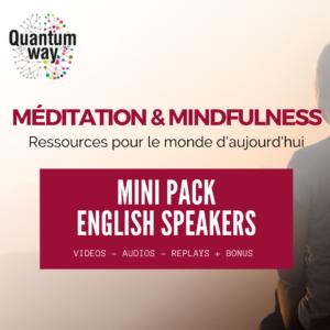 """Online Conference """"Meditation & Mindfulness"""" – December 2020 – English Speakers"""