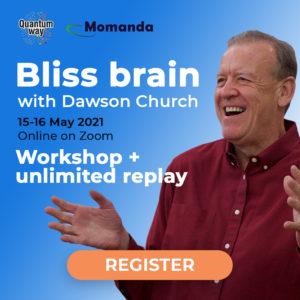 """Bliss Brain"" workshop with Dawson Church + unlimited replay"