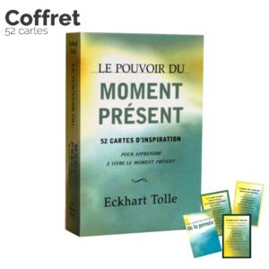 Le pouvoir du moment présent – Coffret de 52 cartes – Eckart Tolle