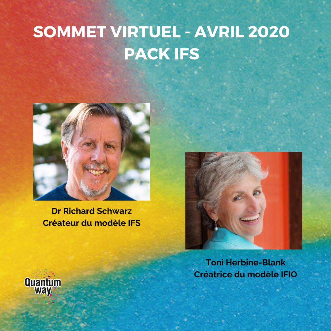 Pack IFS - Richard Schwartz & Toni Herbine-Blank ✧ Sommet Quantum Way 2020