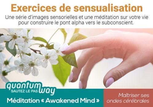 Awakened Mind_Exercices de sensualisation_banniere produit