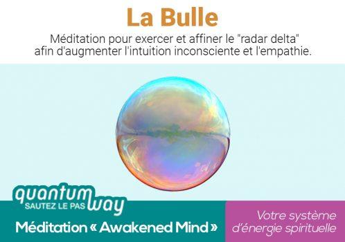 Awakened Mind_La Bulle_banniere produit