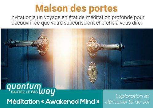 Awakened Mind_Maison des portes_banniere produit
