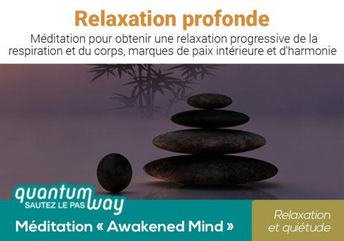 Awakened Mind_Relaxation profonde_banniere produit