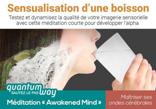 Awakened Mind_Sensualisation dune boisson_banniere produit
